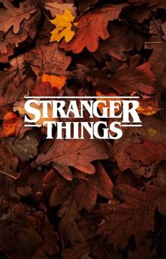 Stranger Things papel de parede wallpaper plano de fundo