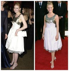 Celebrity Twinning: Kirsten Dunst and Reese Witherspoon, 2003/2006.