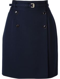 Shop Alexander McQueen high waisted skirt in Luisa World from the world's best independent boutiques at farfetch.com. Over 1000 designers from 60 boutiques in one website.