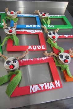 1000 images about id es march de no l d cos on pinterest - Bricolage de noel pinterest ...