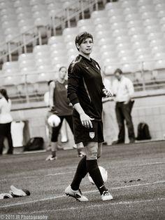 Amy Lepeilbet,  USA women's soccer,  Outside Defender #6... boss