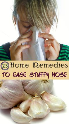23 Home Remedies to Ease Stuffy Nose