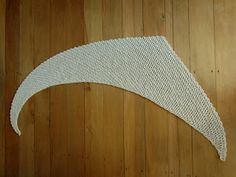 Peppercorn Knits: Squidge - a crochet shawlette