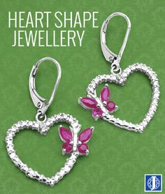 Heart shape Jewellery is the best to carry this season!