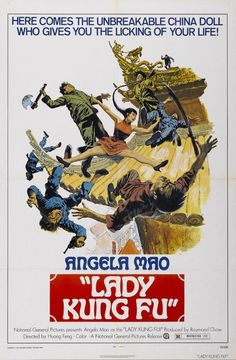 Lady Kung Fu poster