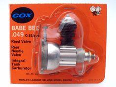 COX BABE BEE 0.8 RC Model Airplane Engine Vintage 1970s MOC Rare Motor 0819 049 | Modellbau, RC-Modellbau, RC Modellbau Teile & Zubehör | eBay! Spark Models, Old Models, Light Art, Vintage Games, Vintage Toys, Vespa Ape, Hobbs Coat, Rc Hobbies, Babe