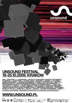Unsound Music Festival Poster.