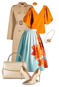 colored set for warm types 3 by neet-13 on Polyvore featuring Yves Saint  Laurent 892241eac4
