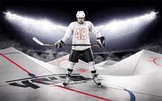 Ice Hockey Rink Template