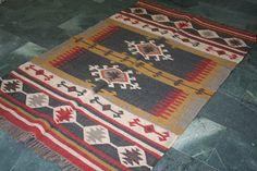 kilim rug moroccan rug Kilim rug turkish rug vintage kilim 4x6 christmas gifts  #Handmade