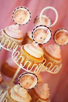 Vintage first birthday party.   Love it!