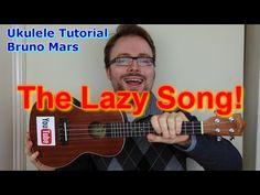 The Lazy Song - Bruno Mars (Ukulele Tutorial) - YouTube