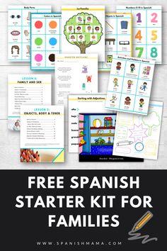 Free Spanish Worksheets for Kids