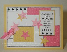 In the Stars #2 by Miss Boo - Cards and Paper Crafts at Splitcoaststampers (Feb'16)