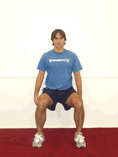 Today's Exercise: Wall Squats