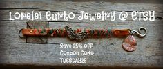 Lorelei's Blog ETSY JEWELRY SALE TODAY AND TOMORROW ONLY! Save 25% your jewelry orders!