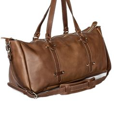 This handmade leather men's duffel bag is designed for men. It is an everyday work bag, gym bag or hand luggage for your overseas travels. Hand Luggage, Leather Bags Handmade, Duffel Bag, Leather Men, Gym Bag, Carry On, Duffle Bags
