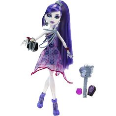 Boneca Monster High – Spectra Vondergeist Petit Poá – Mattel - http://batecabeca.com.br/boneca-monster-high-spectra-vondergeist-petit-poa-mattel.html