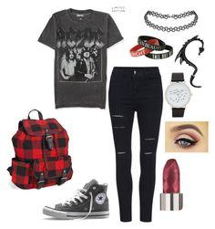"""""""school"""" by iamfearless156 on Polyvore featuring Aéropostale, Converse and ALDO"""