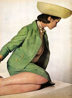 Vogue February 1964, photo by Bert Stern