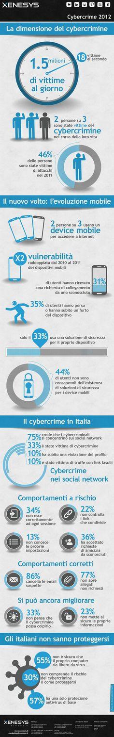 @xenesys_it Quanto è grande il #cybercrime nel mondo? E in Italia? Ecco come #social e #mobile peggiorano le cose e anche alcuni consigli su come difendersi.
