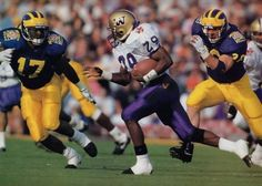 Beno Bryant of the Huskies.  Probably the most electrifying kick returner in Husky football history.