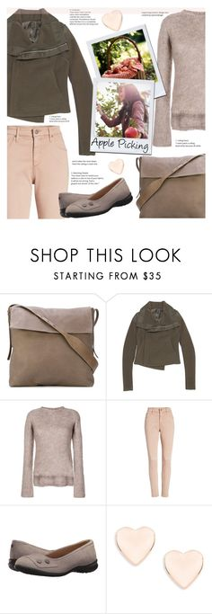 """""""Apple Picking"""" by sara-cdth ❤ liked on Polyvore featuring Rick Owens, AG Adriano Goldschmied, Hush Puppies and Ted Baker"""