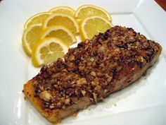 Honey & Almond crusted Salmon