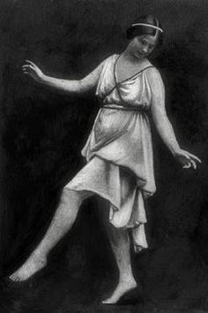 Isadora Duncan, the Queen of Modern Dance Isadora Duncan, Modern Dance, Contemporary Dance, Paul Poiret, Rainbow Light, Dance Movement, Mystique, Her World, Dance Photos