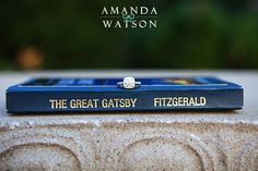 not too sure how this is an engagement photo.. but for me, it symbolizes my marriage to F Scott and Gatsby. <3