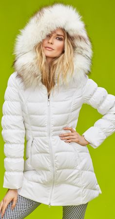 ae10e52ccb4 Stay warm and chic this winter with this long down coat.