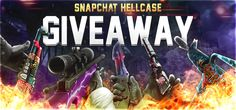 HELLCASE SNAPCHAT GIVEAWAY