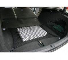 Das Kofferraumnetz lässt sich problemlos in den Kofferräumen aller gängigen Fahrzeuge mit den Befestigungshaken fixieren. Nespresso, Tote Bag, Bags, Shopping, Trunks, Vehicles, Handbags, Totes, Bag