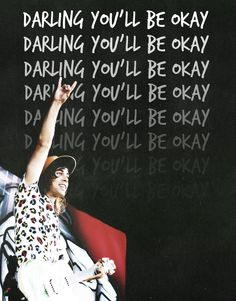 Pierce the Veil - Vic Fuentes - Darling You'll be Oaky Emo Bands, Music Bands, Rock Bands, Tony Perry, Band Quotes, Lyric Quotes, Pierce The Veil Quotes, Back Up, Lyric Tattoos
