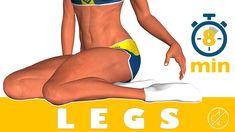 Treinamento das pernas em 8 minutos - No Music