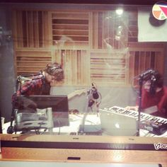 @salvadorjolly in studio at @wtbu