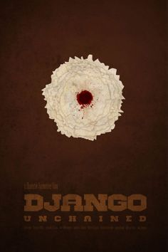 Minimalist Movie Poster Django Unchained