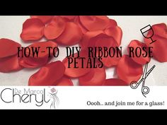 DIY VALENTINES DAY ROSE PETALS