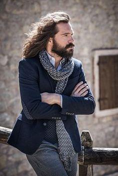 738c98fa622cf John barritt blue jacket unlined with patches slim fit Pantaloni