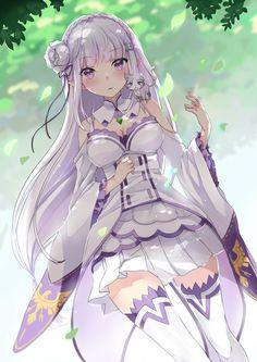 re zero Beautiful anime art
