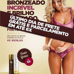 Últimas horas da PROMOÇÃO com  Frete GRÁTIS é parcelamento em até 6⃣✖️SEMJUROS compre o seu no SITE www.bestbronze.com.br