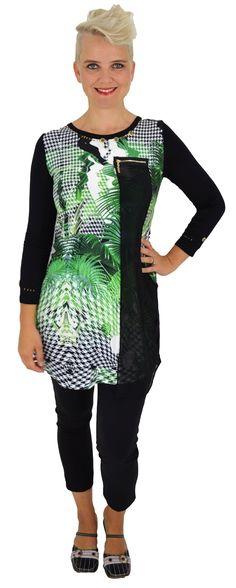Green Palm Tunic