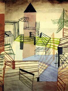 Paul Klee - Festungsbau, 1921