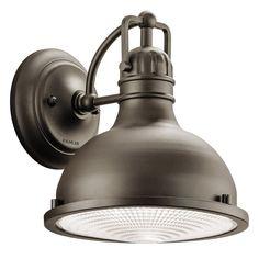 Kichler Lighting 49065OZ Hatteras Bay 1 Light 10 inch Olde Bronze Outdoor Wall Lantern in Standard
