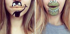 OMG! Wie cool sind bitte die Cartoon-Make-ups von Laura Jenkinson?