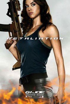 "This summer 2012 meet Girls with Gun in ""G.I.Joe 2 Retaliation"""