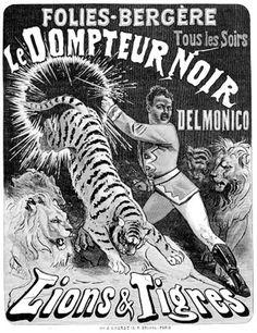 Delmonico aux Folies Bergère. Jules Cheret (1885)