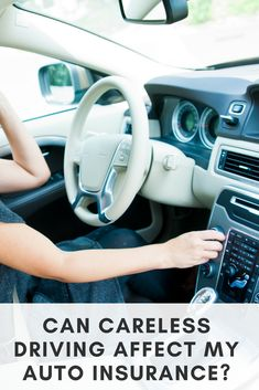 Careless driving doesn't just cause accidents - it can cause your auto insurance rates to skyrocket. Auto Insurance Companies, Best Insurance, Life Insurance, Driving Safety, Driving Tips, Driving Courses, Affect Me, Going On Holiday, Just In Case