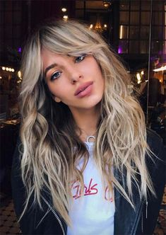 55 Dope Long Haircuts with Bangs: Tips for Wearing Fringe Hairstyles – Kees K. 55 Dope Long Haircuts with Bangs: Tips for Wearing Fringe Hairstyles Long Haircuts with Bangs for Women: Long Fringe Hairstyles Long Haircuts With Bangs, Long Fringe Hairstyles, Fringe Haircut, Long Layered Haircuts, Long Bangs, Easy Hairstyles For Long Hair, Long Hair Cuts, Cool Hairstyles, Popular Hairstyles