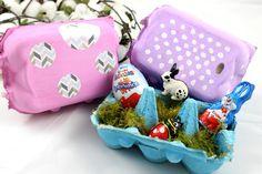Osternester / Eierkartons upcyclen / Eierschachteln / Ostern / Easter DIY / Basteln mit Kindern / Geschenkidee http://lifestylemommy.de/diy-osternester-mit-kindern-basteln-eierkartons-upcyclen/